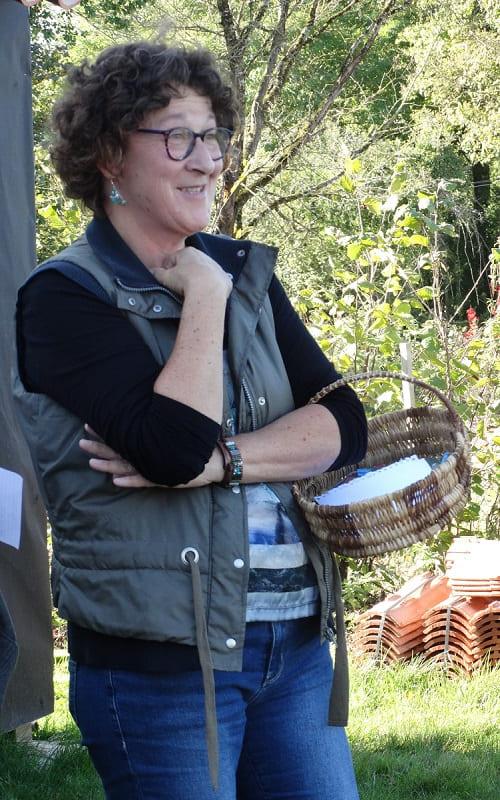 Découvrez corinne, propriétaire du gite ecologique en Vendée - Ecolieu la Gataudière
